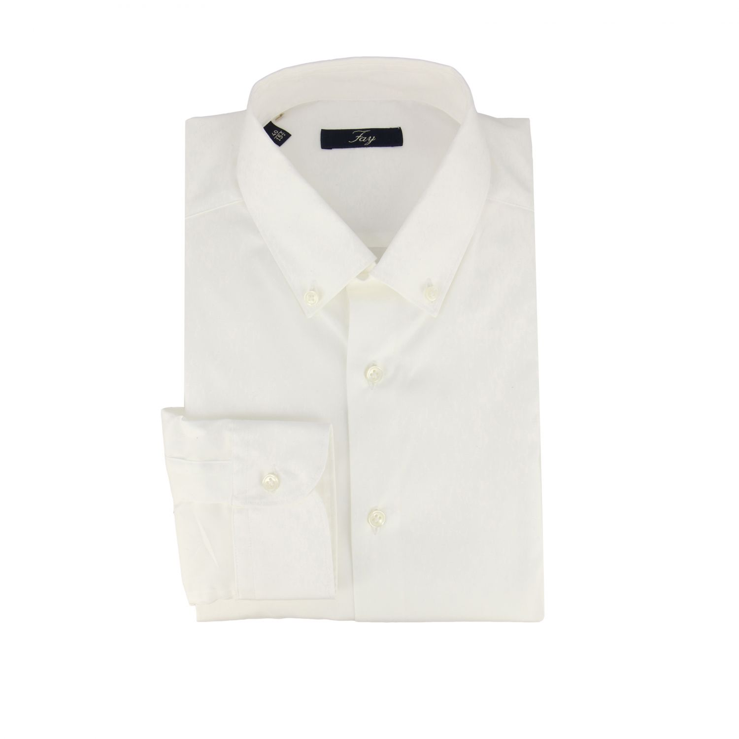Shirt men Fay white 1
