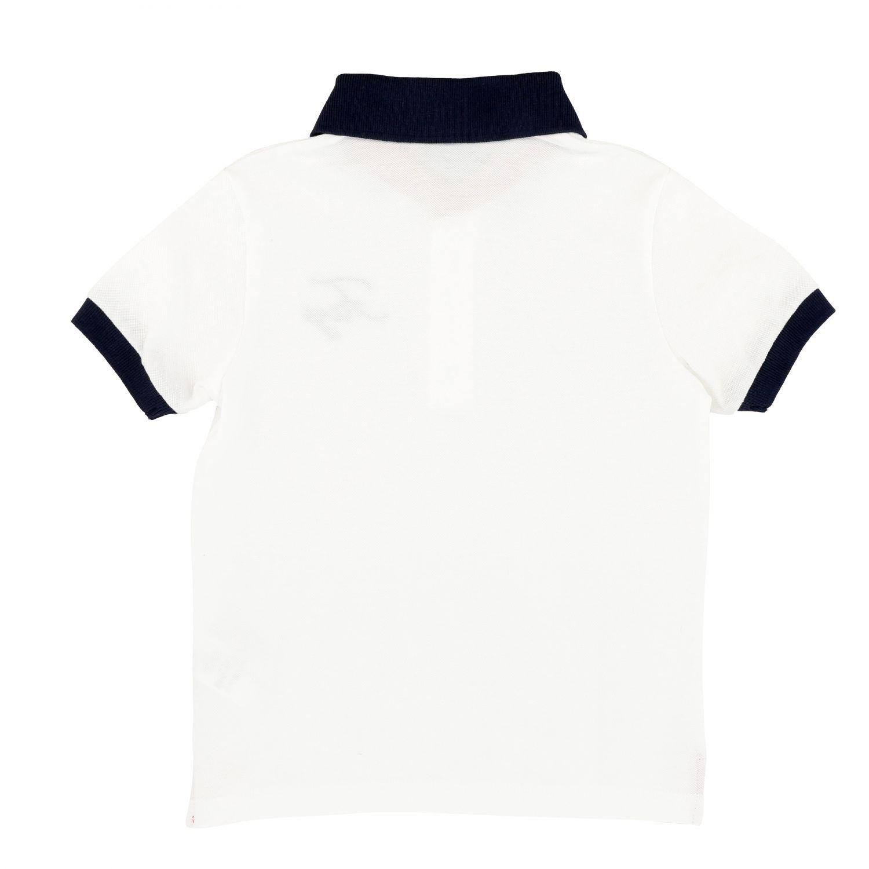 Polo Fay: Camiseta niños Fay blanco 2