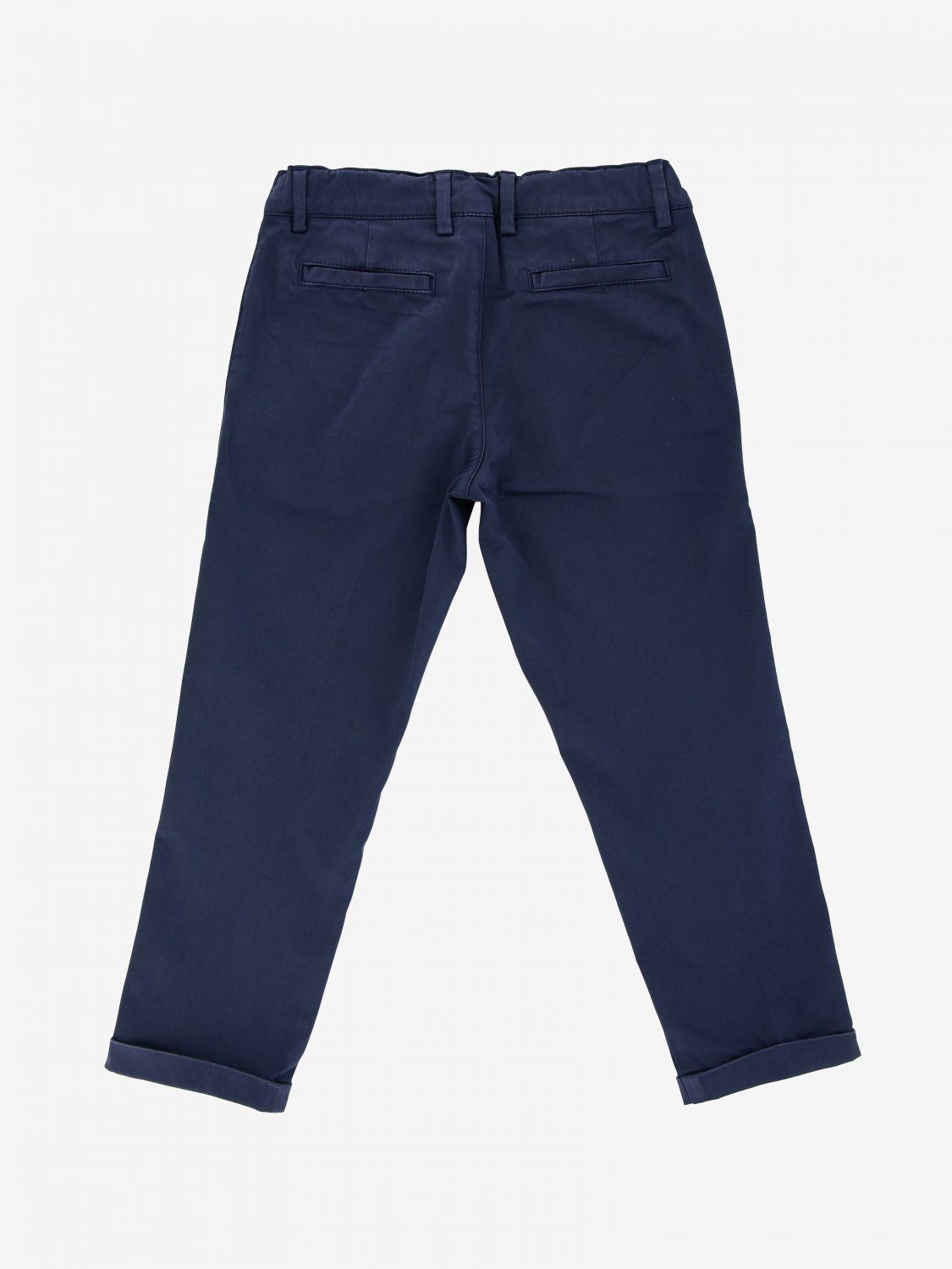 Fay cotton trousers blue 2