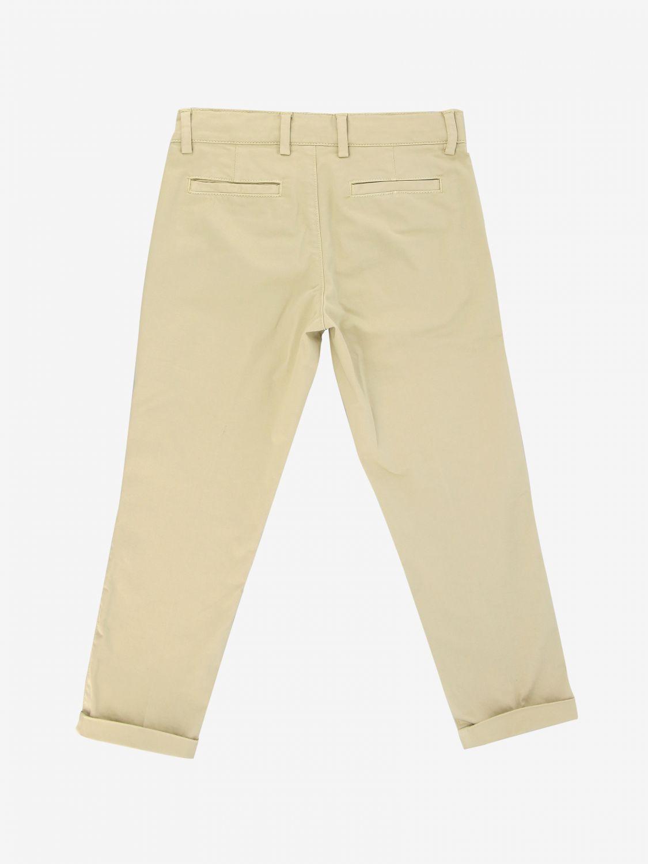 Trousers kids Fay beige 2