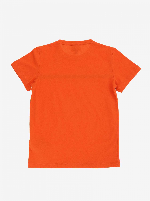 T-shirt EA7 avec logo imprimé bleu 2