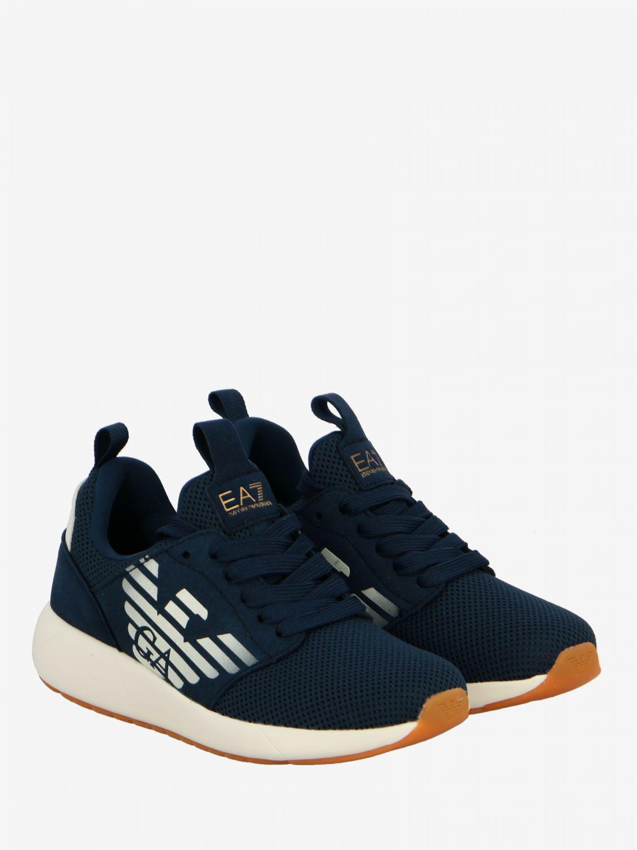 Shoes kids Ea7 blue 2