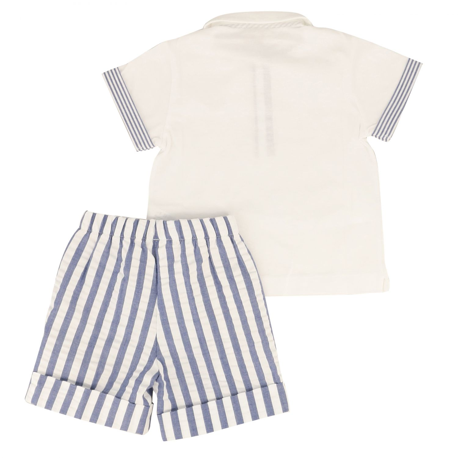 Jumpsuit kids Il Gufo blue 2