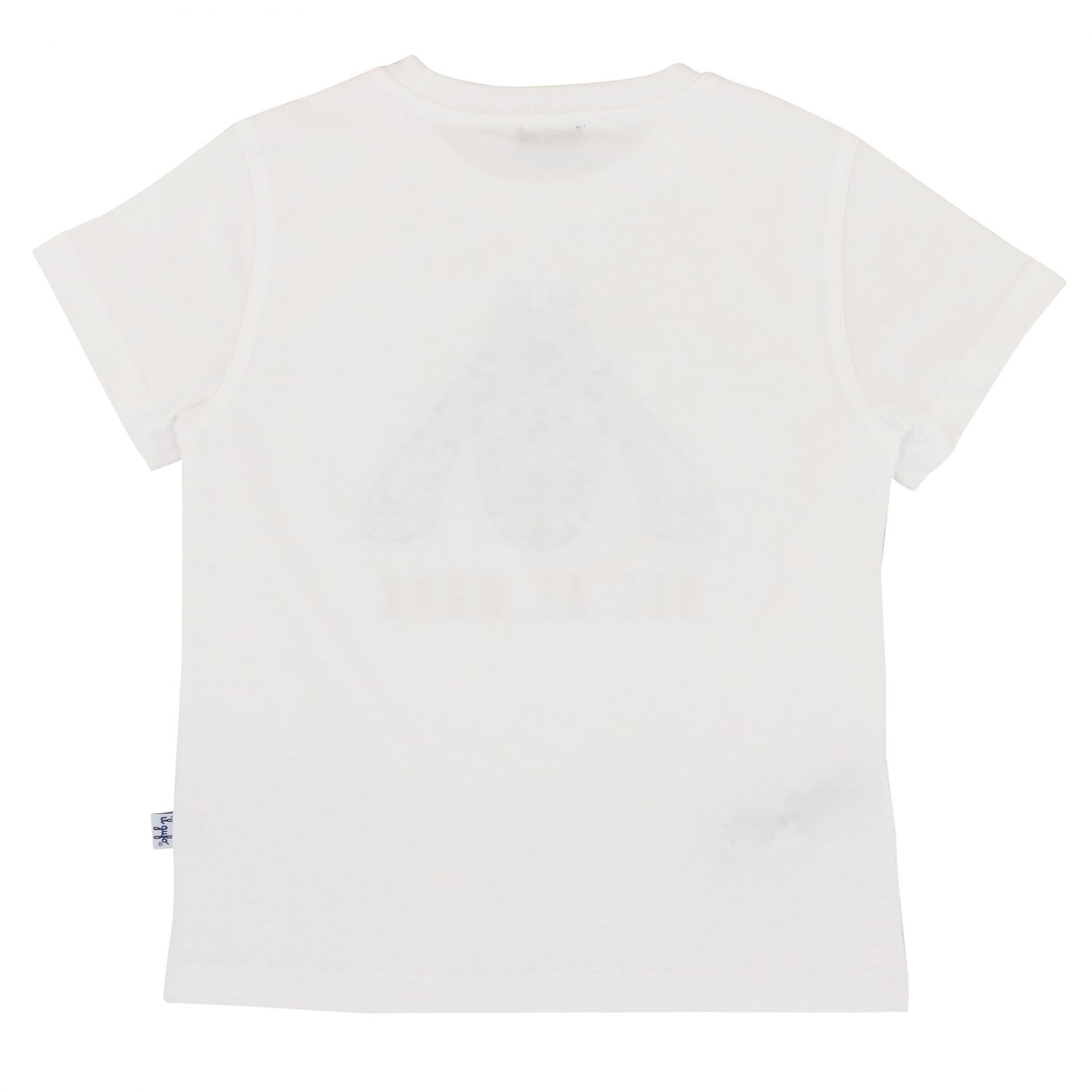 Il Gufo short-sleeved T-shirt with bee print white 2