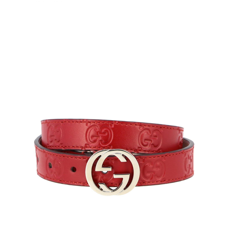 皮带 儿童 Gucci 红色 1