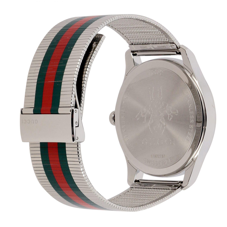 Uhr herren Gucci silber 2