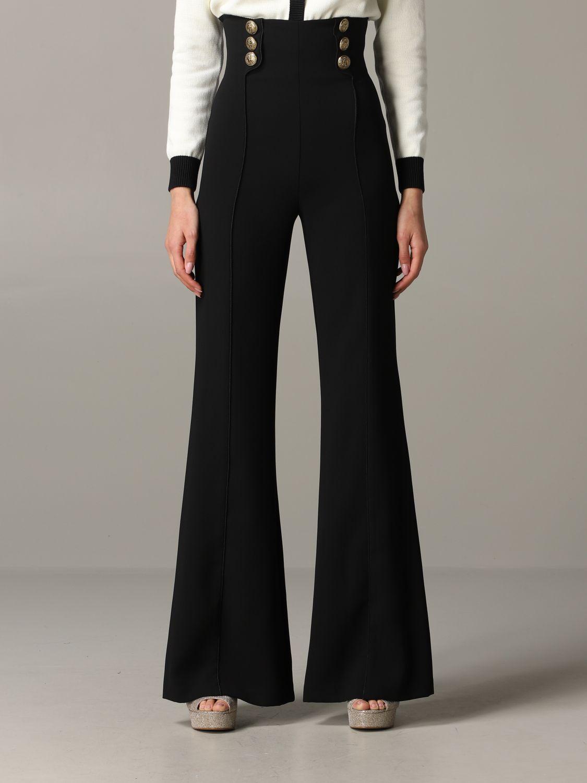 Trousers Elisabetta Franchi: Trousers women Elisabetta Franchi black 1