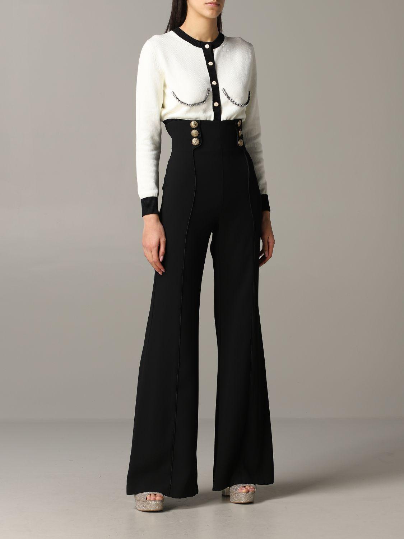 Trousers Elisabetta Franchi: Trousers women Elisabetta Franchi black 2