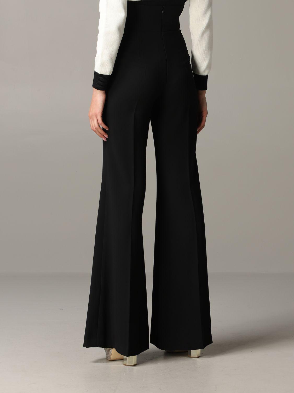 Trousers Elisabetta Franchi: Trousers women Elisabetta Franchi black 3
