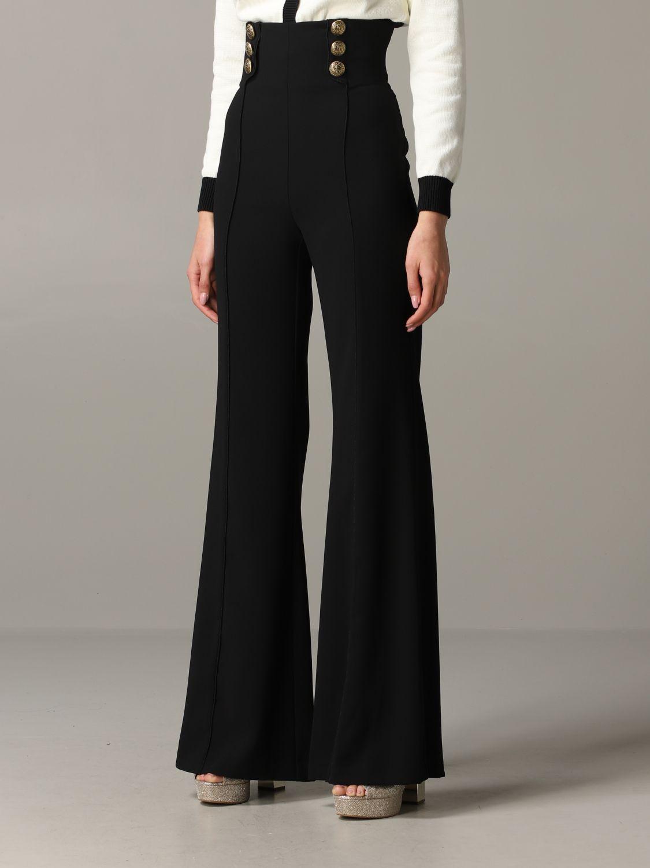 Trousers Elisabetta Franchi: Trousers women Elisabetta Franchi black 4