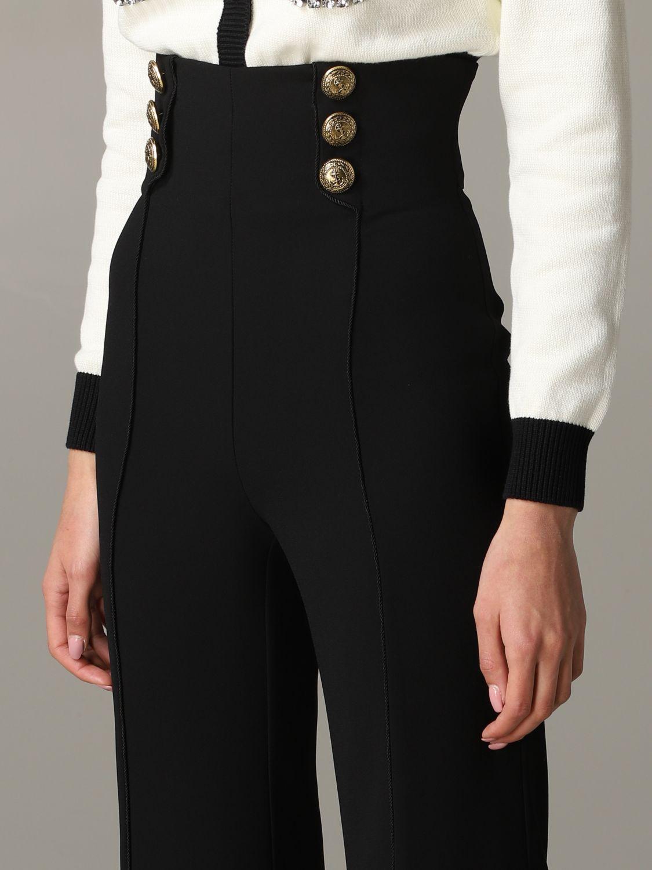 Trousers Elisabetta Franchi: Trousers women Elisabetta Franchi black 5