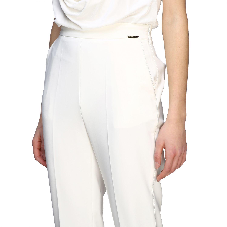 Elisabetta Franchi slim trousers ivory 5
