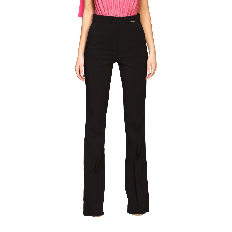 Pantalone Elisabetta Franchi flair nero 1