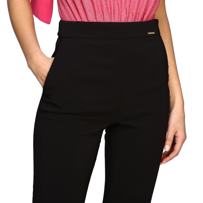 Pantalone Elisabetta Franchi flair nero 5