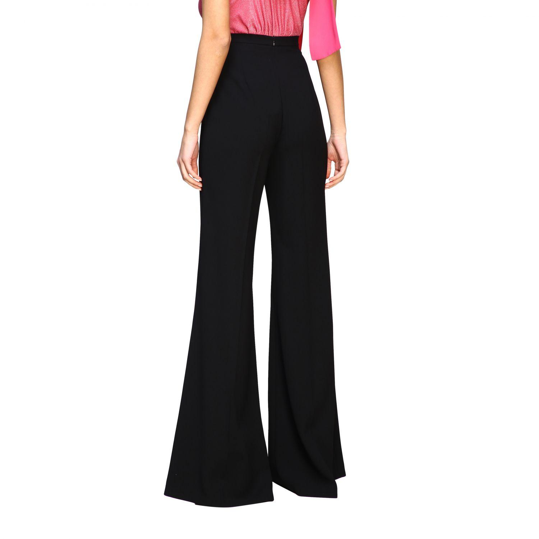Pantalone Elisabetta Franchi con catena nero 3