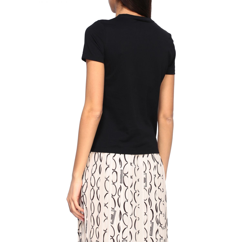 T-shirt women Elisabetta Franchi black 3