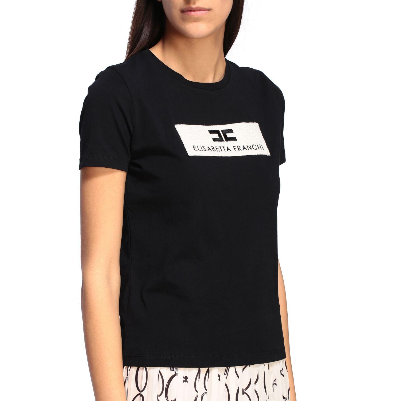 T-shirt women Elisabetta Franchi black 5