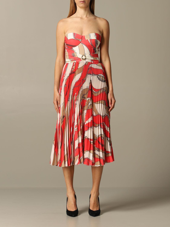 Dress Elisabetta Franchi: Dress women Elisabetta Franchi coral 1
