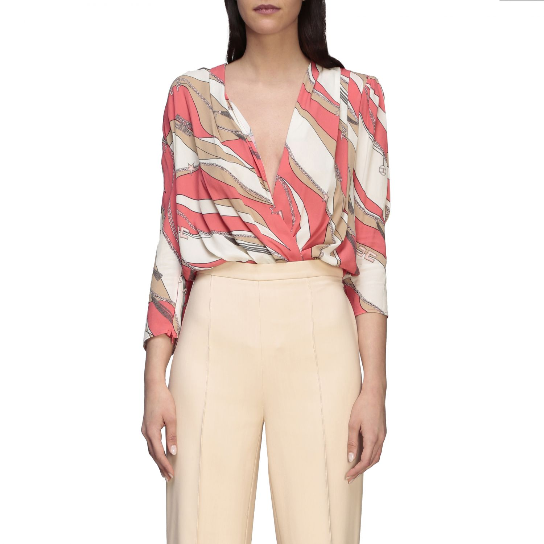 Shirt Elisabetta Franchi: Body women Elisabetta Franchi coral 1