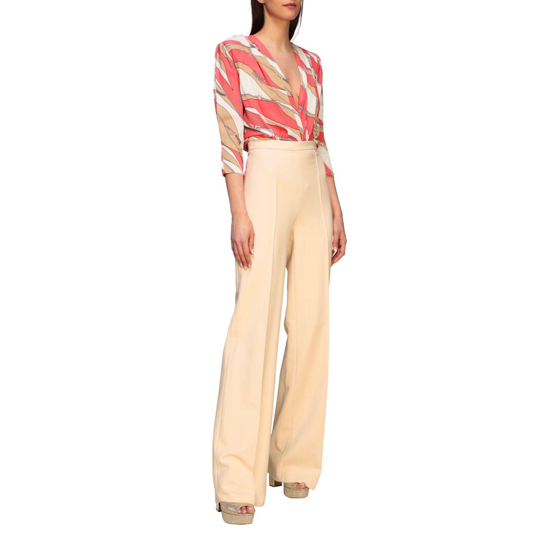 Shirt Elisabetta Franchi: Body women Elisabetta Franchi coral 2