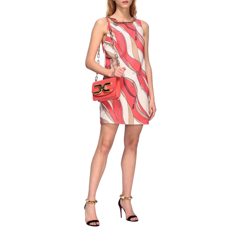 Mini bag Elisabetta Franchi: Shoulder bag women Elisabetta Franchi coral 2