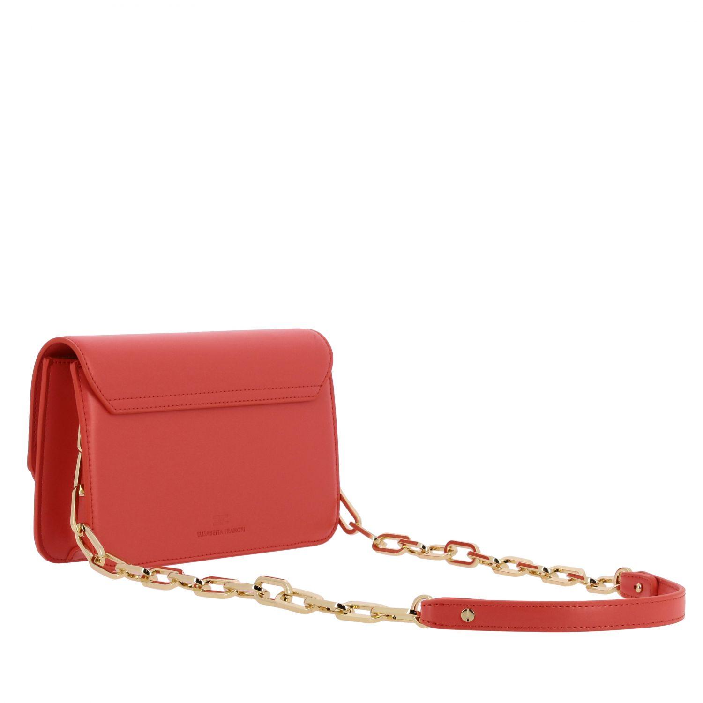 Mini bag Elisabetta Franchi: Shoulder bag women Elisabetta Franchi coral 3