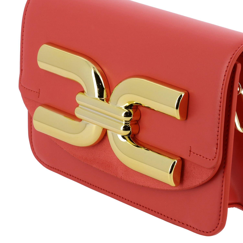 Mini bag Elisabetta Franchi: Shoulder bag women Elisabetta Franchi coral 4