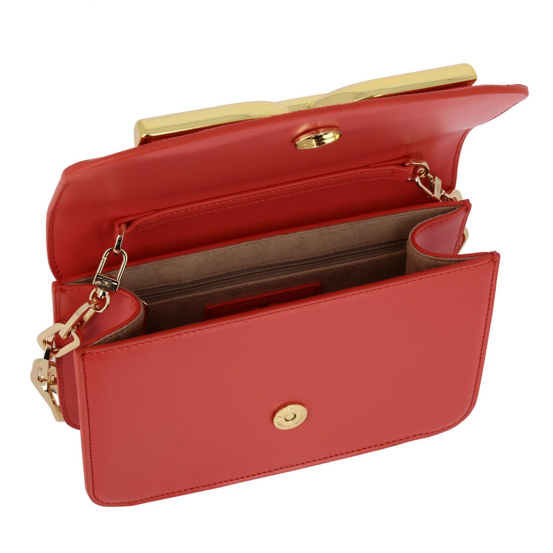 Mini bag Elisabetta Franchi: Shoulder bag women Elisabetta Franchi coral 5
