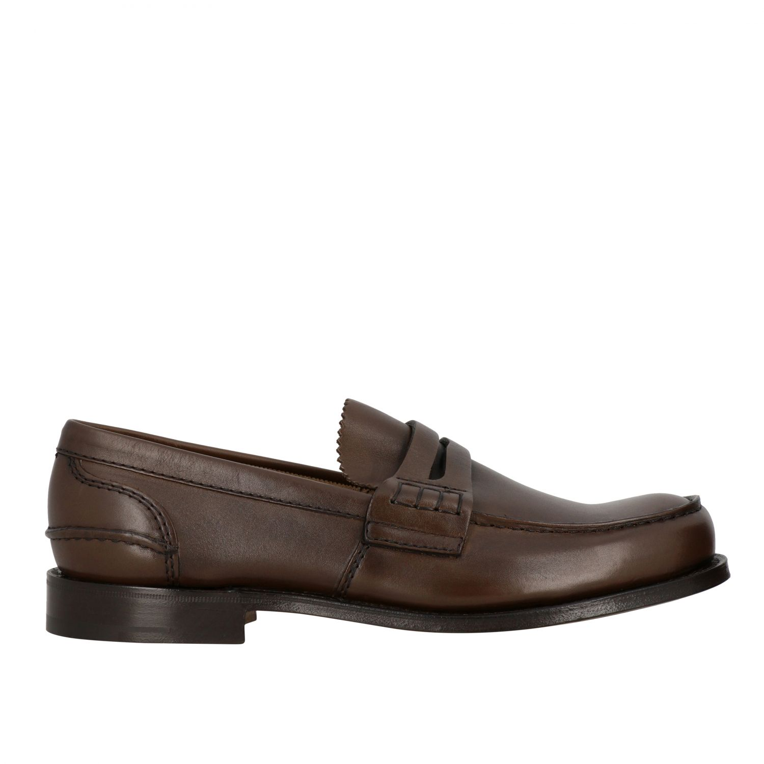 Loafers Church's: Pembrey Church's leather loafer honey 1