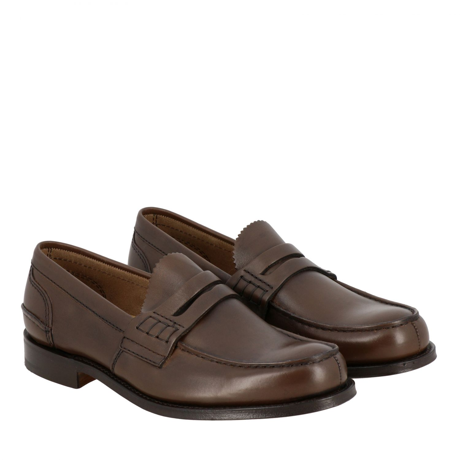 Loafers Church's: Pembrey Church's leather loafer honey 2