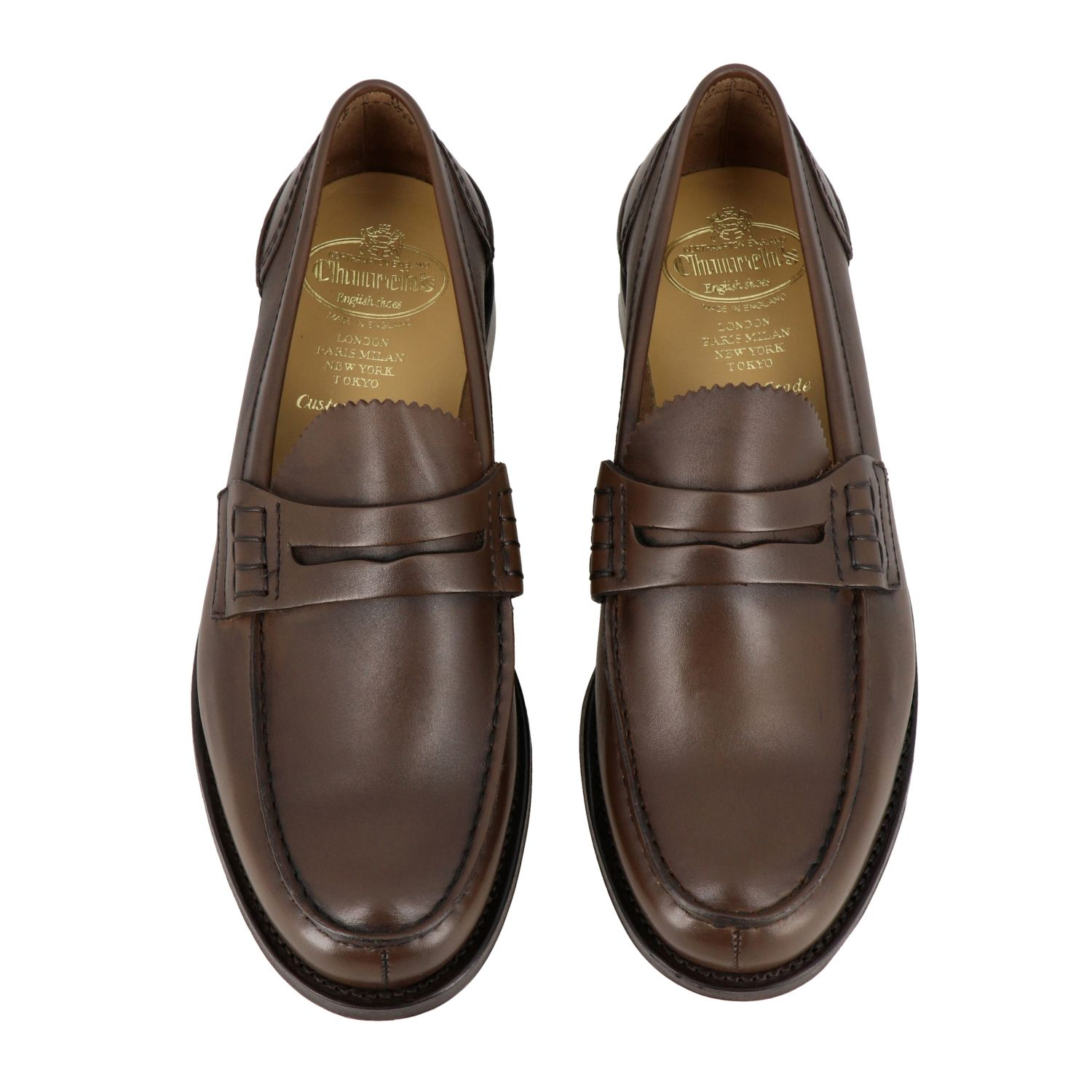 Loafers Church's: Pembrey Church's leather loafer honey 3