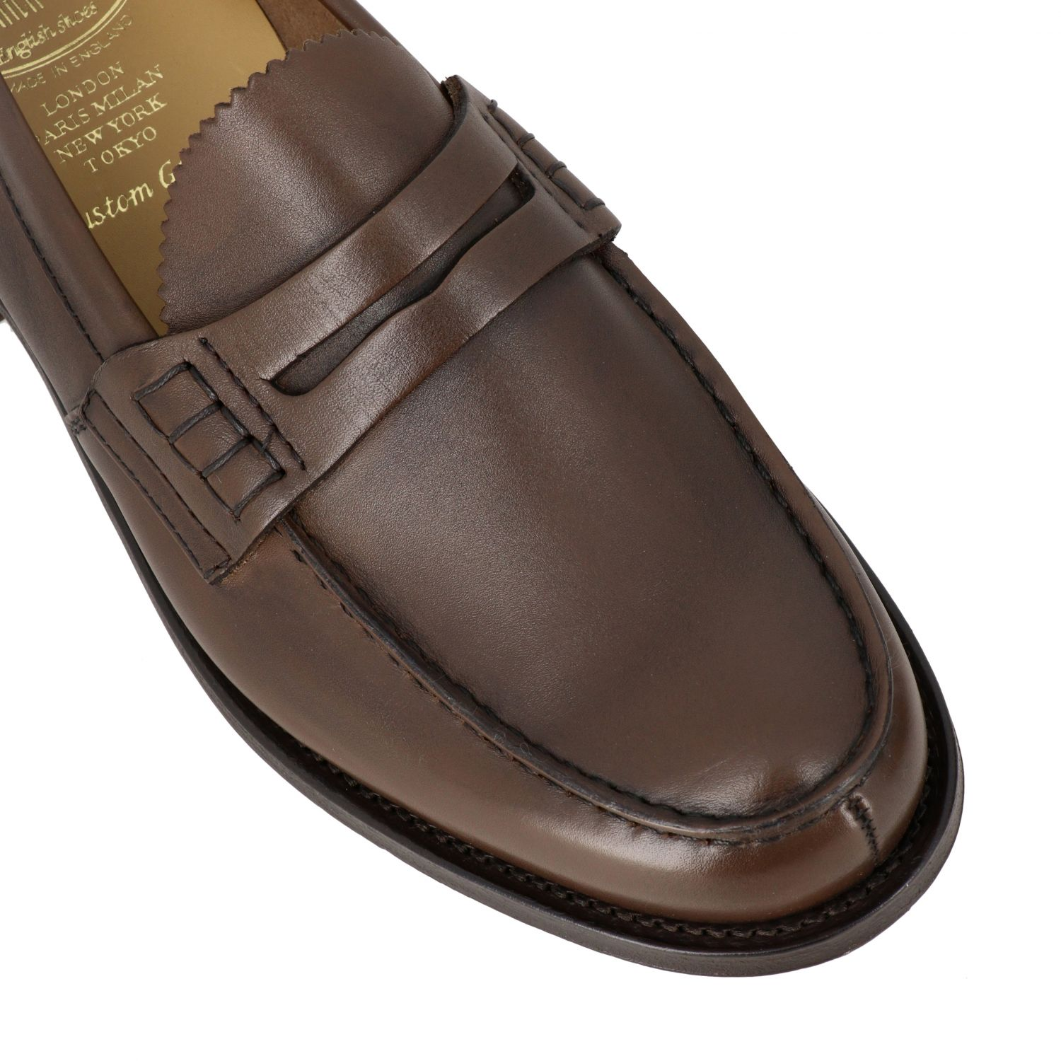 Loafers Church's: Pembrey Church's leather loafer honey 4
