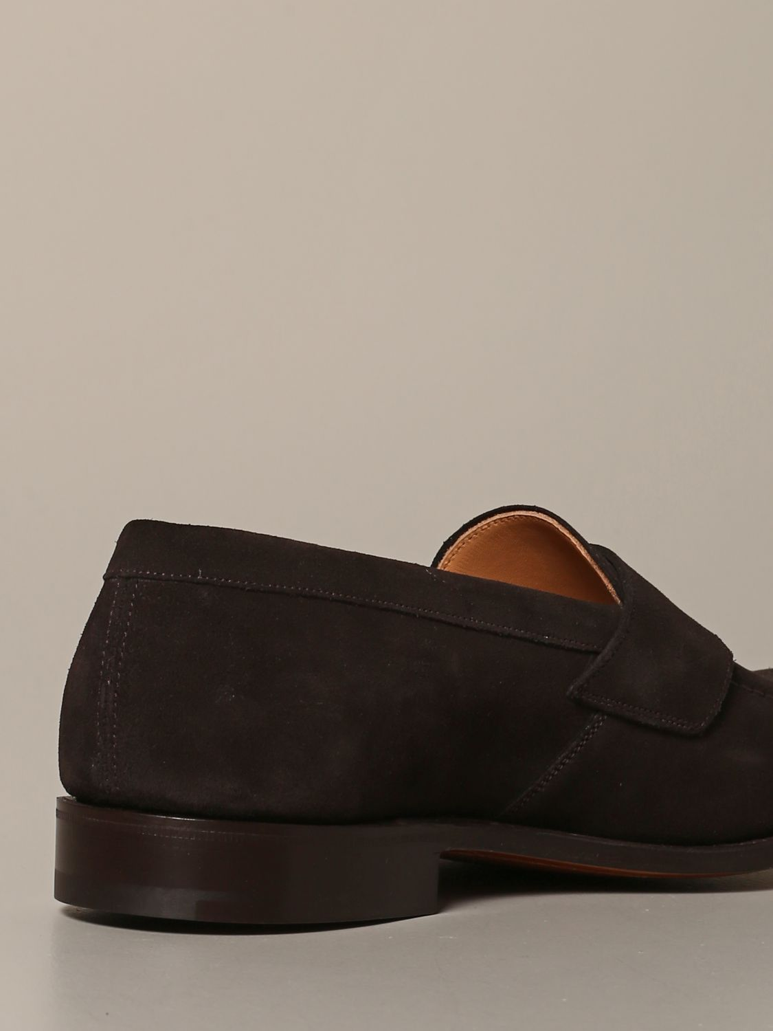 Loafers Church's: Dawley Church's suede moccasin with sleeper dark 5