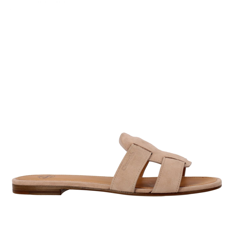 Flat sandals Church's: Shoes women Church's blush pink 1