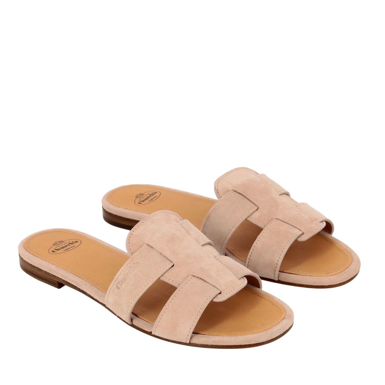 Flat sandals Church's: Shoes women Church's blush pink 2