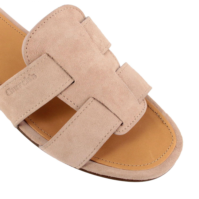 Flat sandals Church's: Shoes women Church's blush pink 4