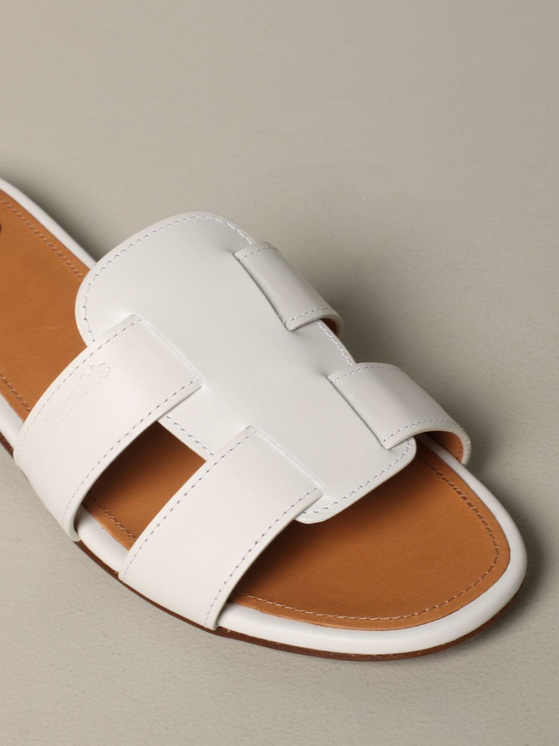 Flat sandals Church's: Shoes women Church's white 4
