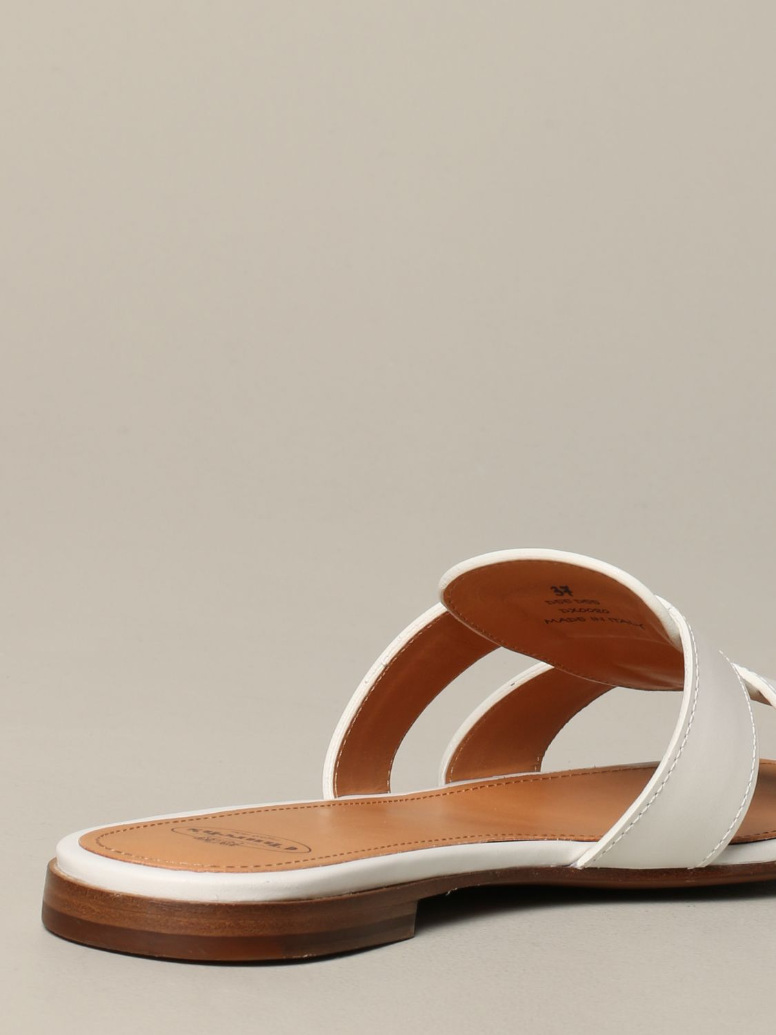 Flat sandals Church's: Shoes women Church's white 5