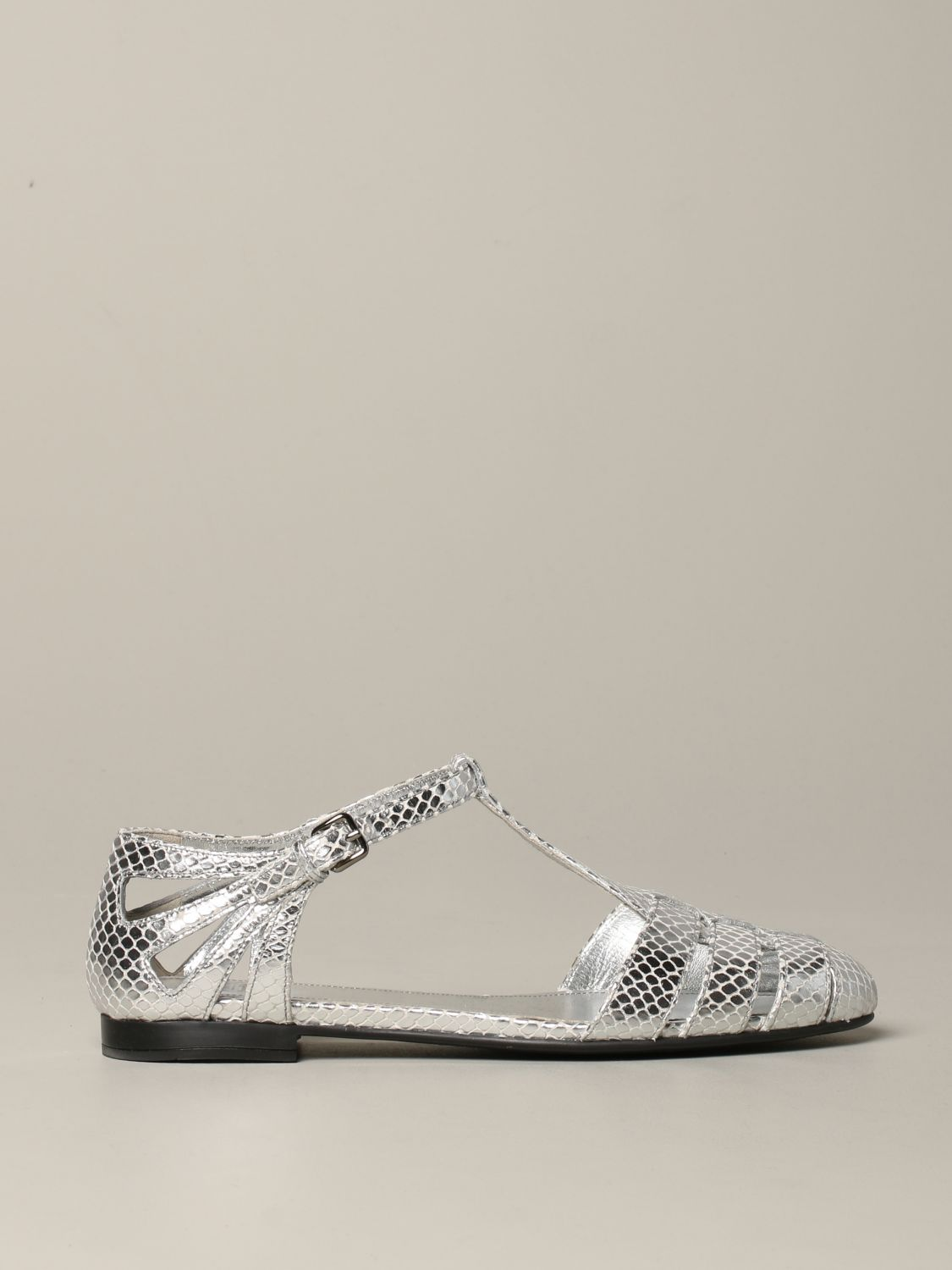 Flat sandals Church's: Shoes women Church's silver 1