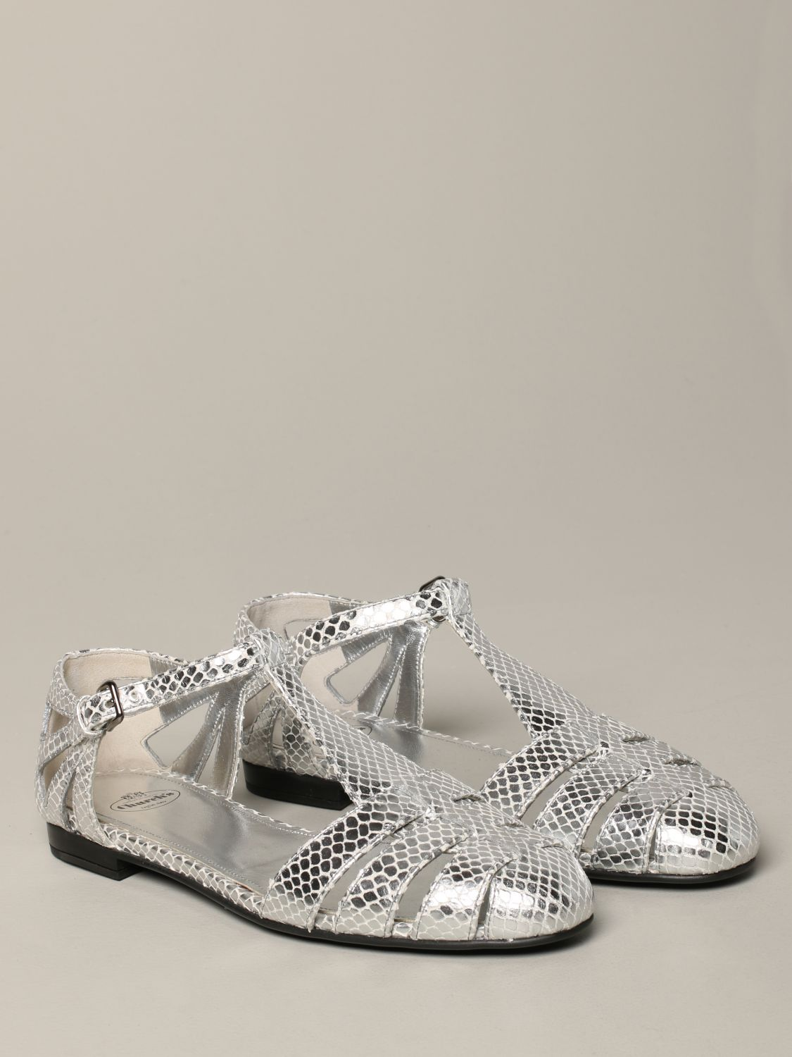 Flat sandals Church's: Shoes women Church's silver 2