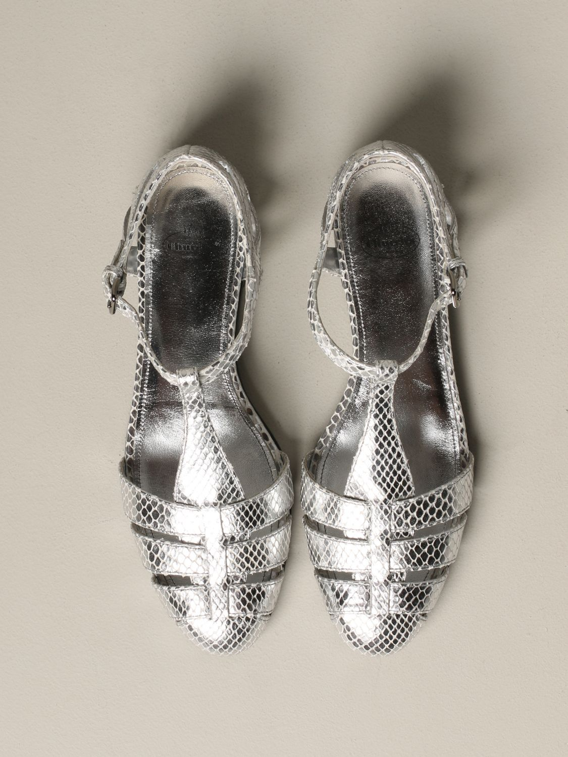 Flat sandals Church's: Shoes women Church's silver 3