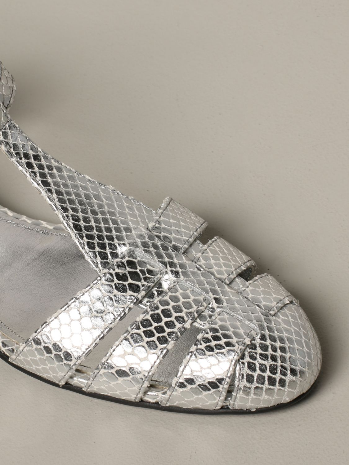 Flat sandals Church's: Shoes women Church's silver 4
