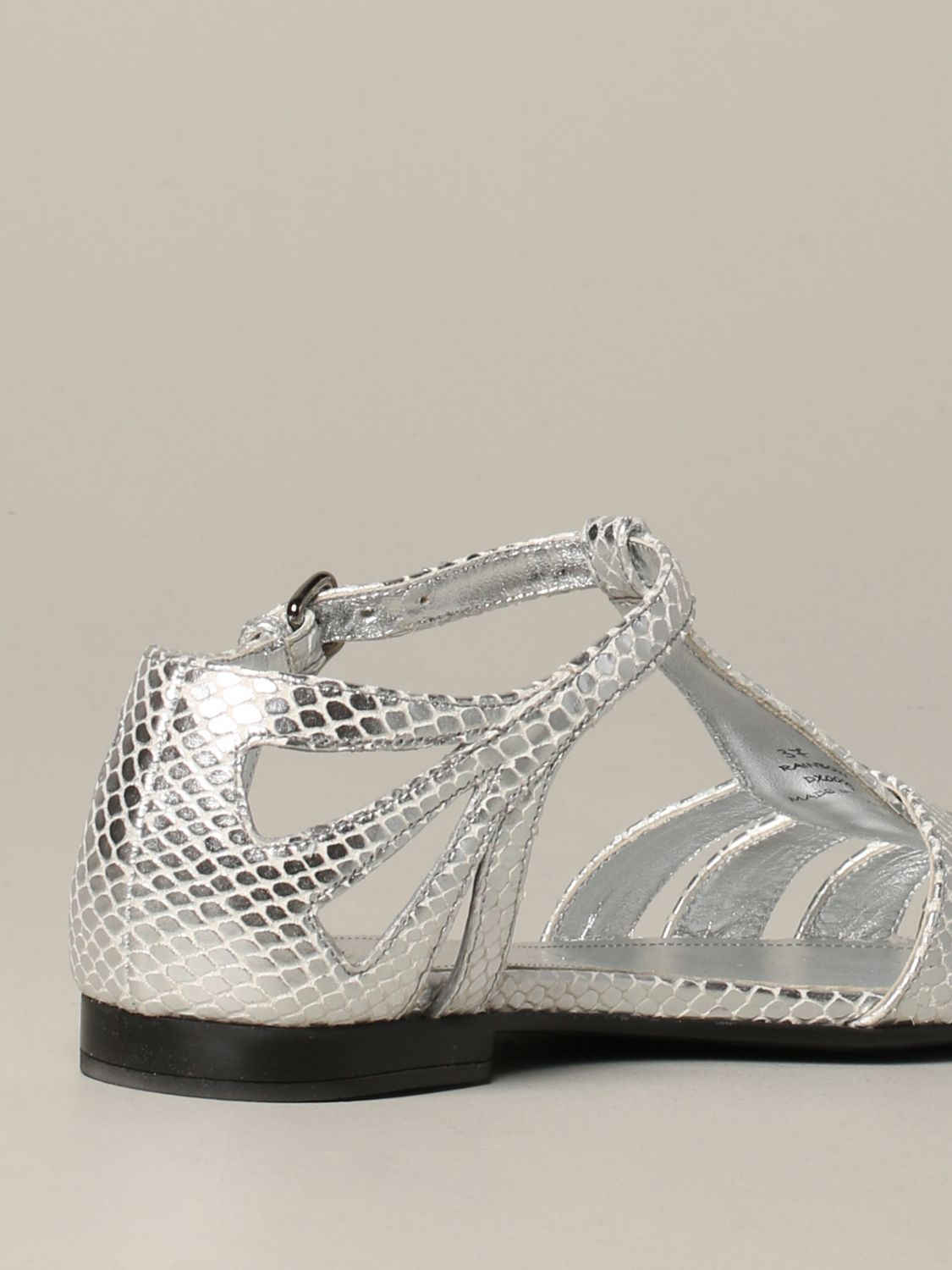 Flat sandals Church's: Shoes women Church's silver 5