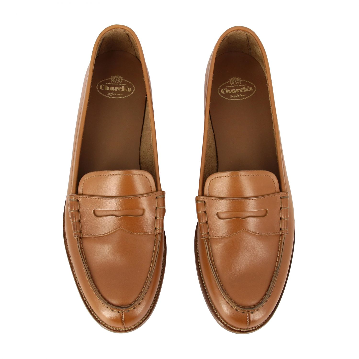 Loafers Church's: Shoes women Church's leather 3