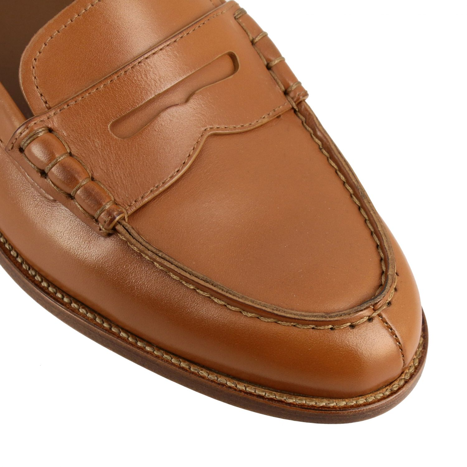 Loafers Church's: Shoes women Church's leather 4