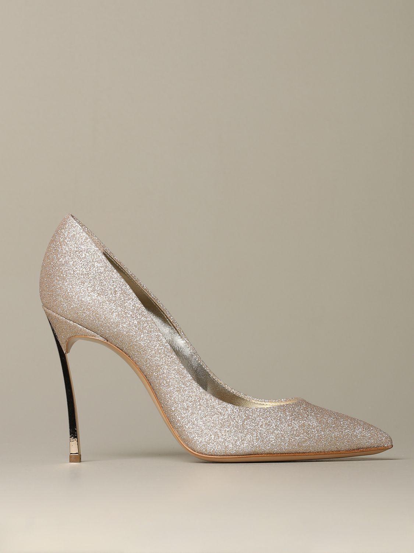 Court shoes Casadei: Shoes women Casadei platinum 1