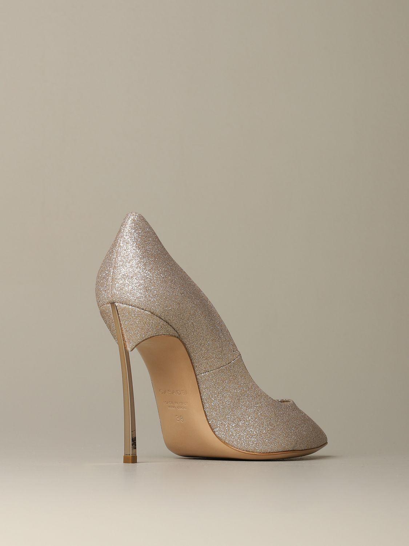 Court shoes Casadei: Shoes women Casadei platinum 3