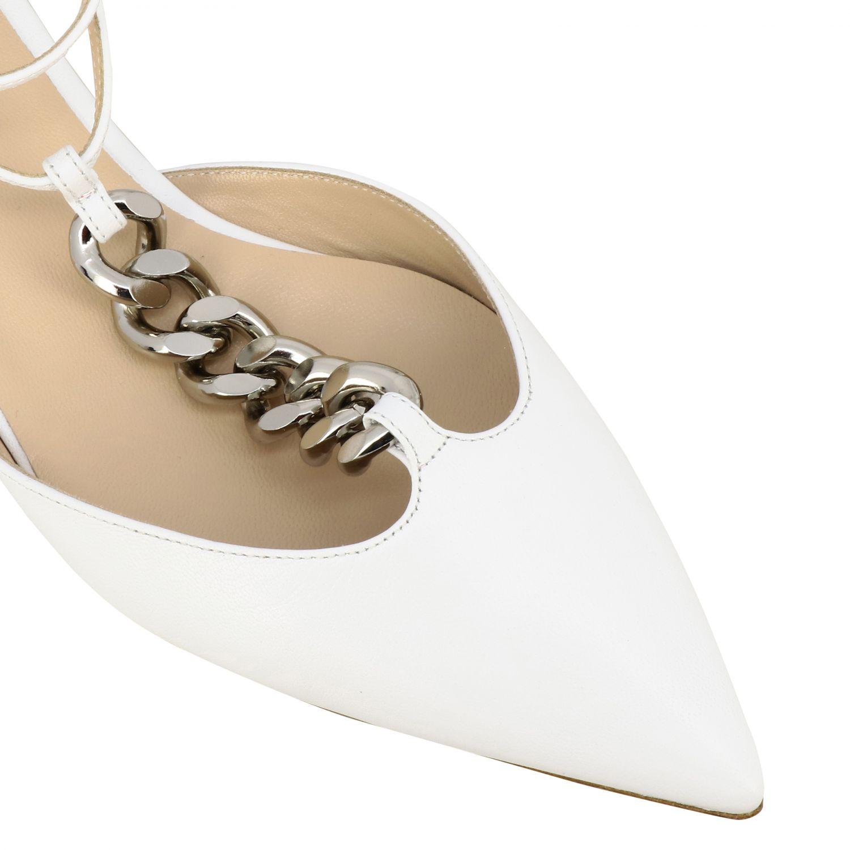 Ballet pumps Casadei: Shoes women Casadei white 4