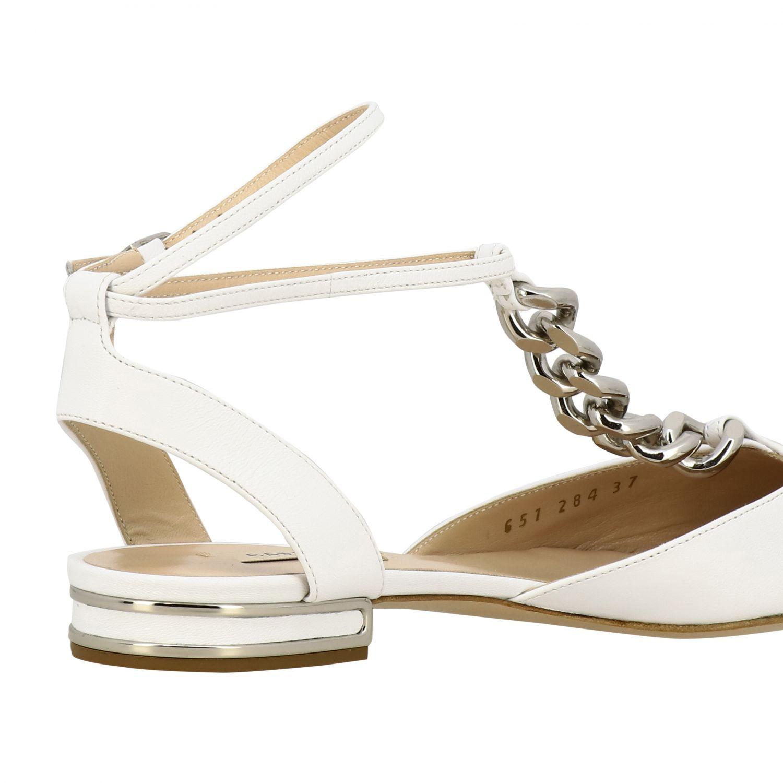 Ballet pumps Casadei: Shoes women Casadei white 5