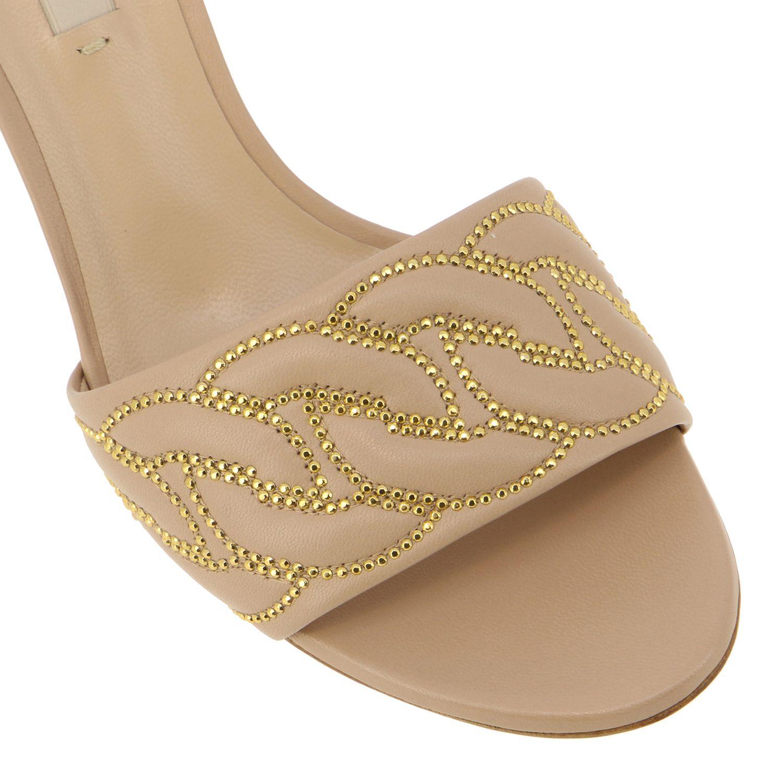 Heeled sandals Casadei: Shoes women Casadei blush pink 4